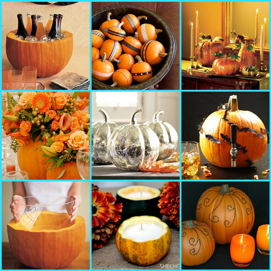 Recycled Pumpkins for your Thanksgiving Decor - San Francisco ...