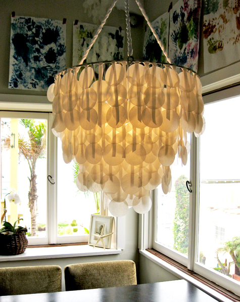 diy-project-paper-chandelier