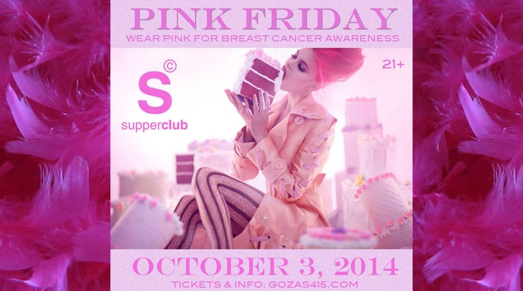 Pink Friday, Weekend Lineup