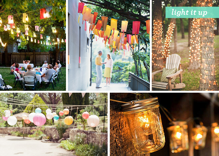 5 must haves for your next summer party abcey events for Decorating ideas for outdoor engagement party