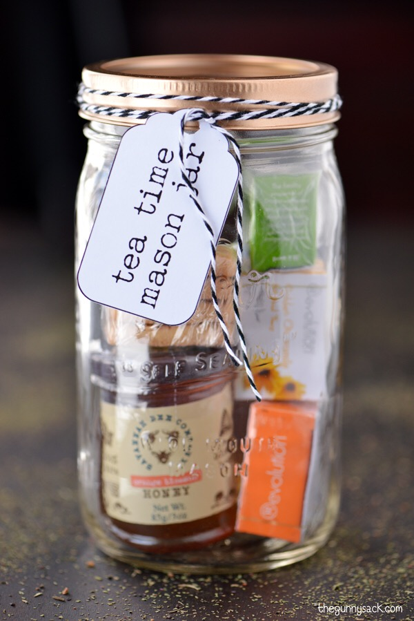 diy tea kit jar