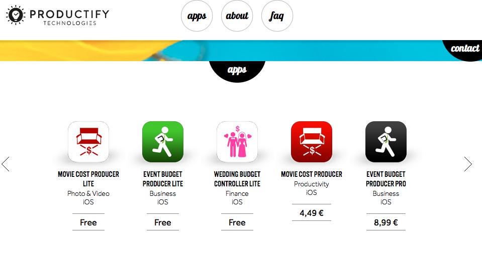 Productify app