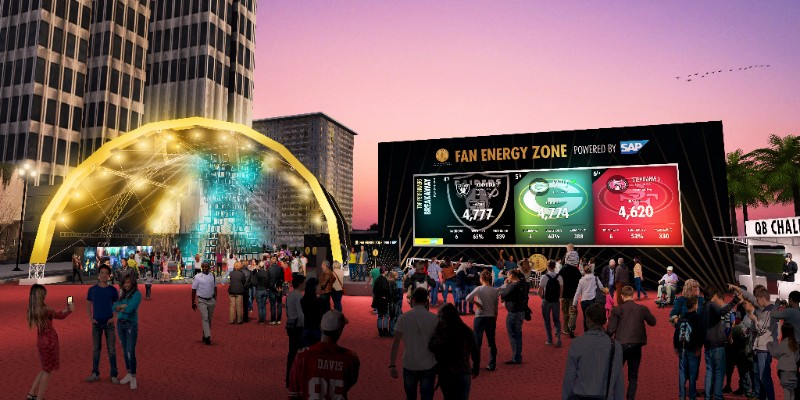 Super Bowl 50 Fan Energy Zone