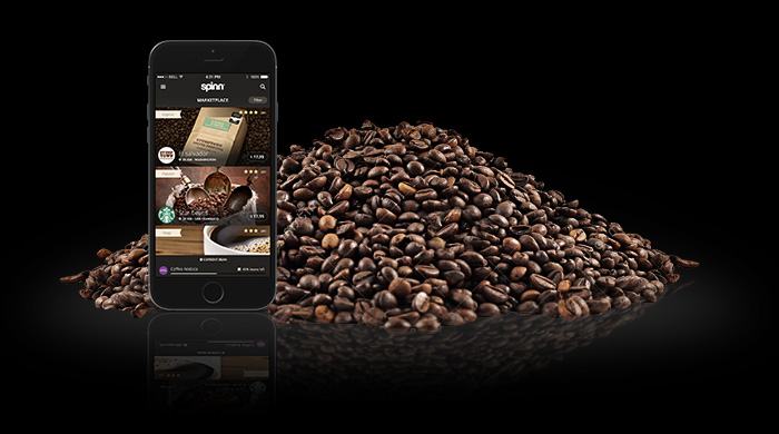Spinn Coffee App