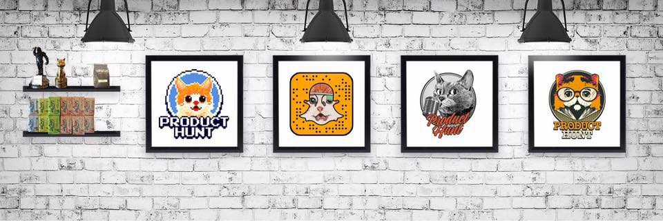 Product Hunt picture frames facebook cover