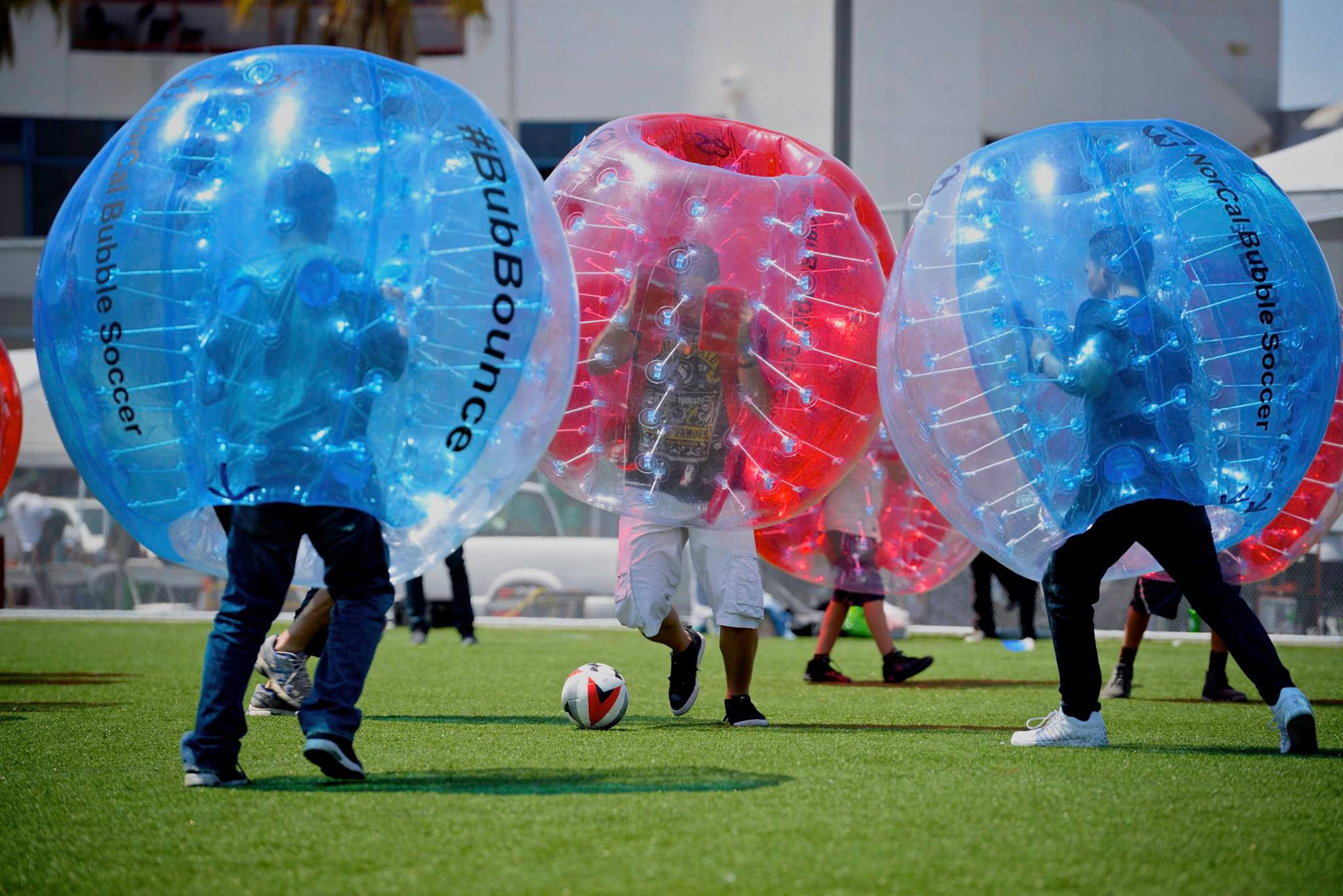 SF Events: Bubble soccer with SF Deltas