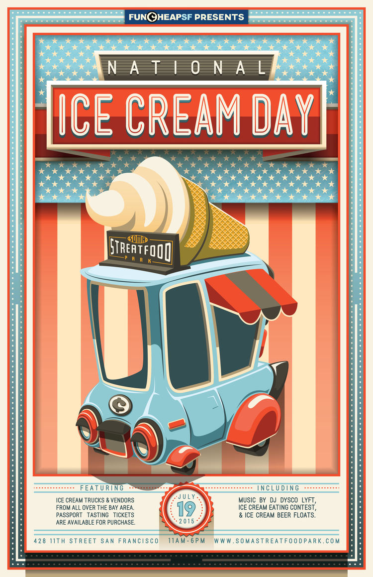Ice Cream Festival Flyer