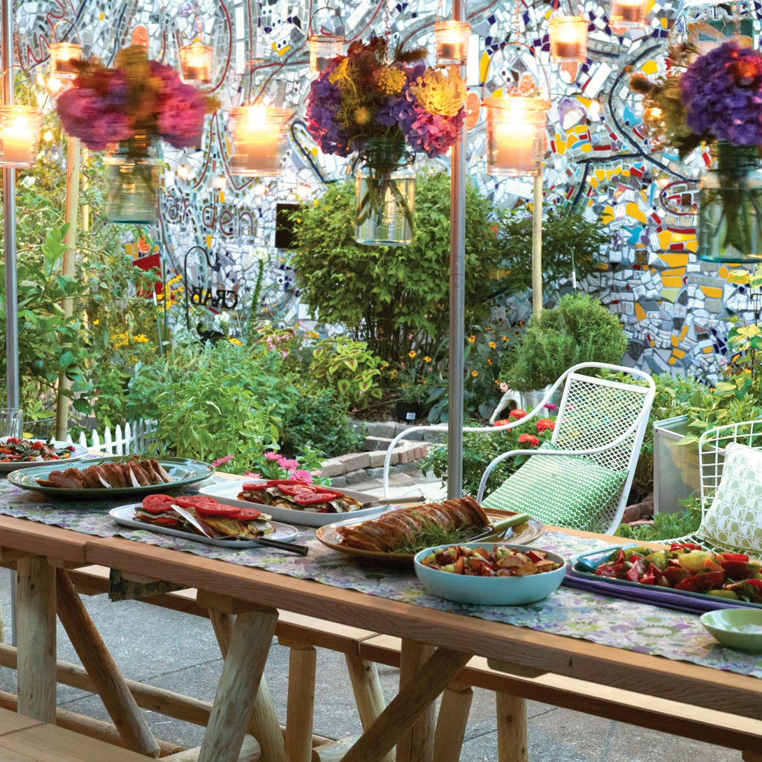 Gallery for gt simple outdoor party ideas