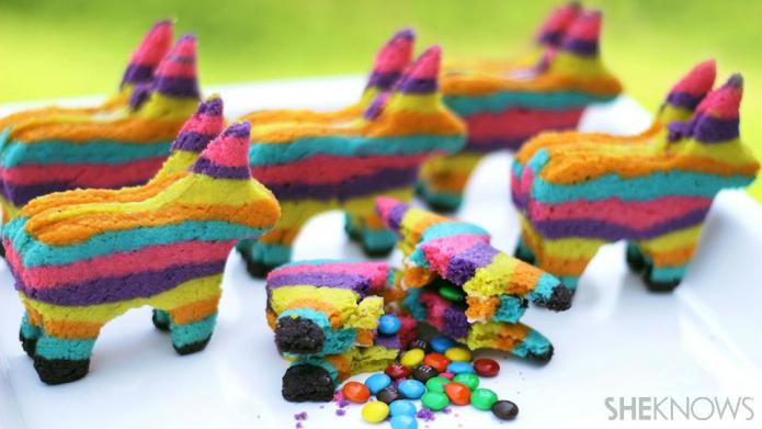 Pinata Sugar Cookies