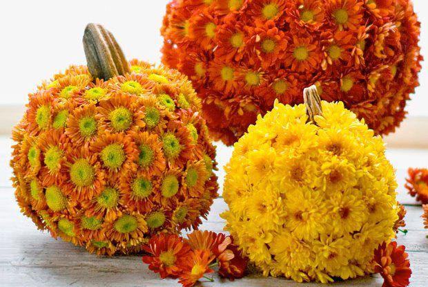 mumkin Fall centerpieces