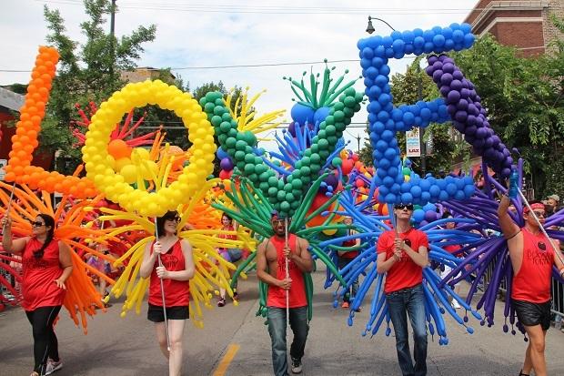 Pride Love Balloons