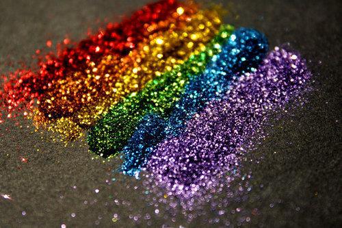 Pride Rainbow Glitter