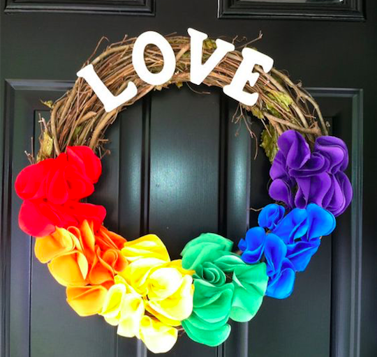 Pride Wreath