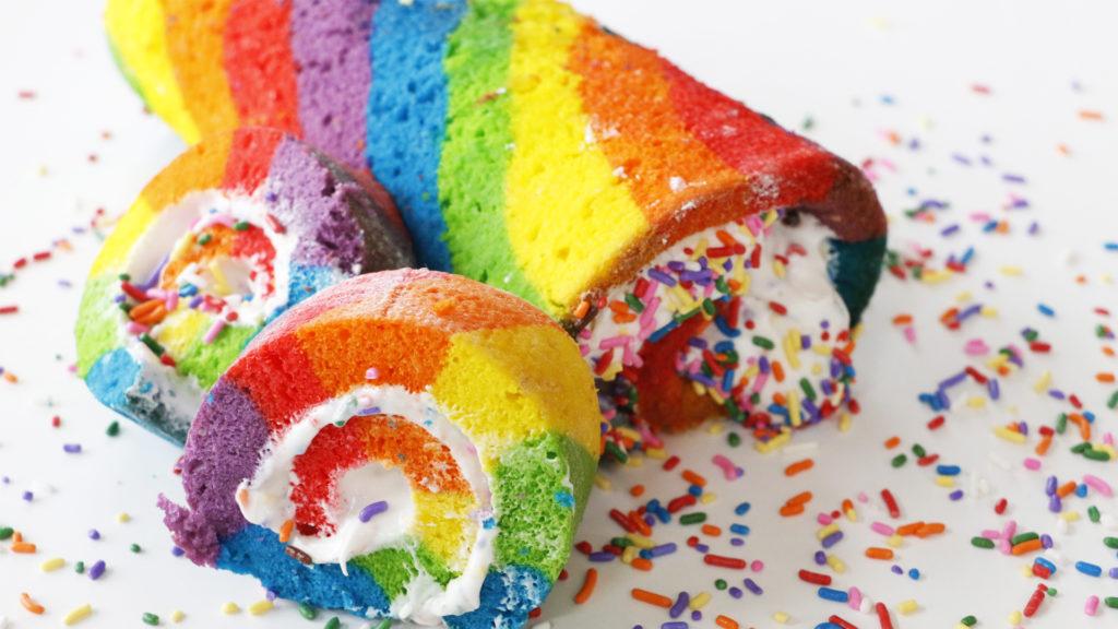 Rain Roll Cakes