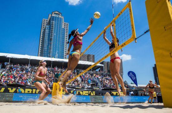 weekend lineup beach volleyball