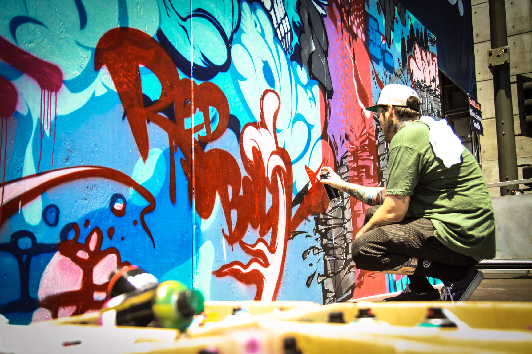 Graffiti and Live Mural Painting