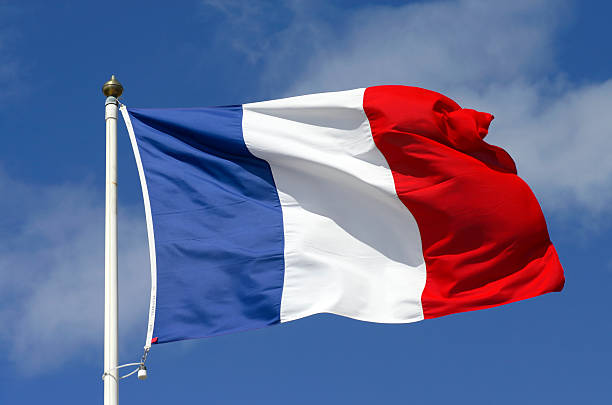 French flag - weekend