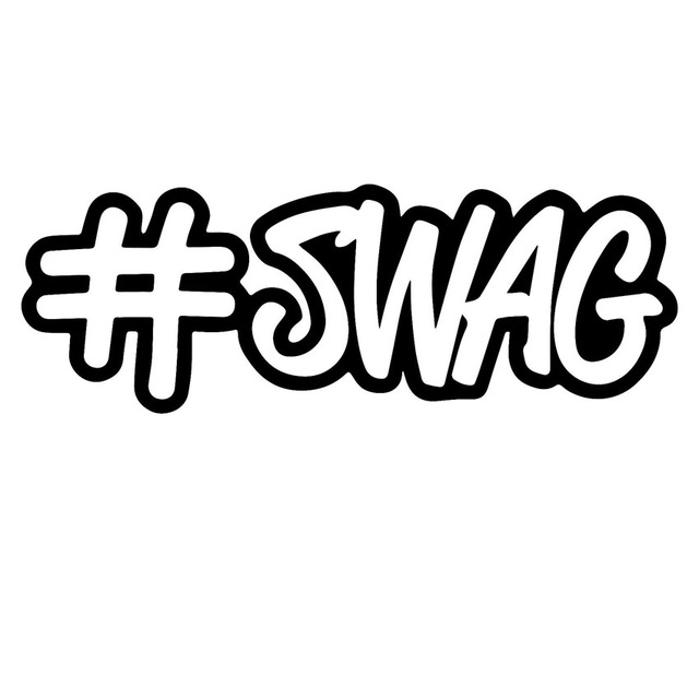 hashtag swag - swag bags