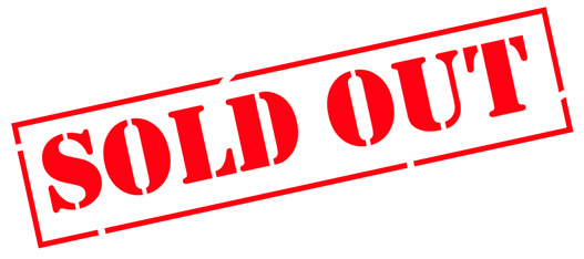 sold out sign - event marketing