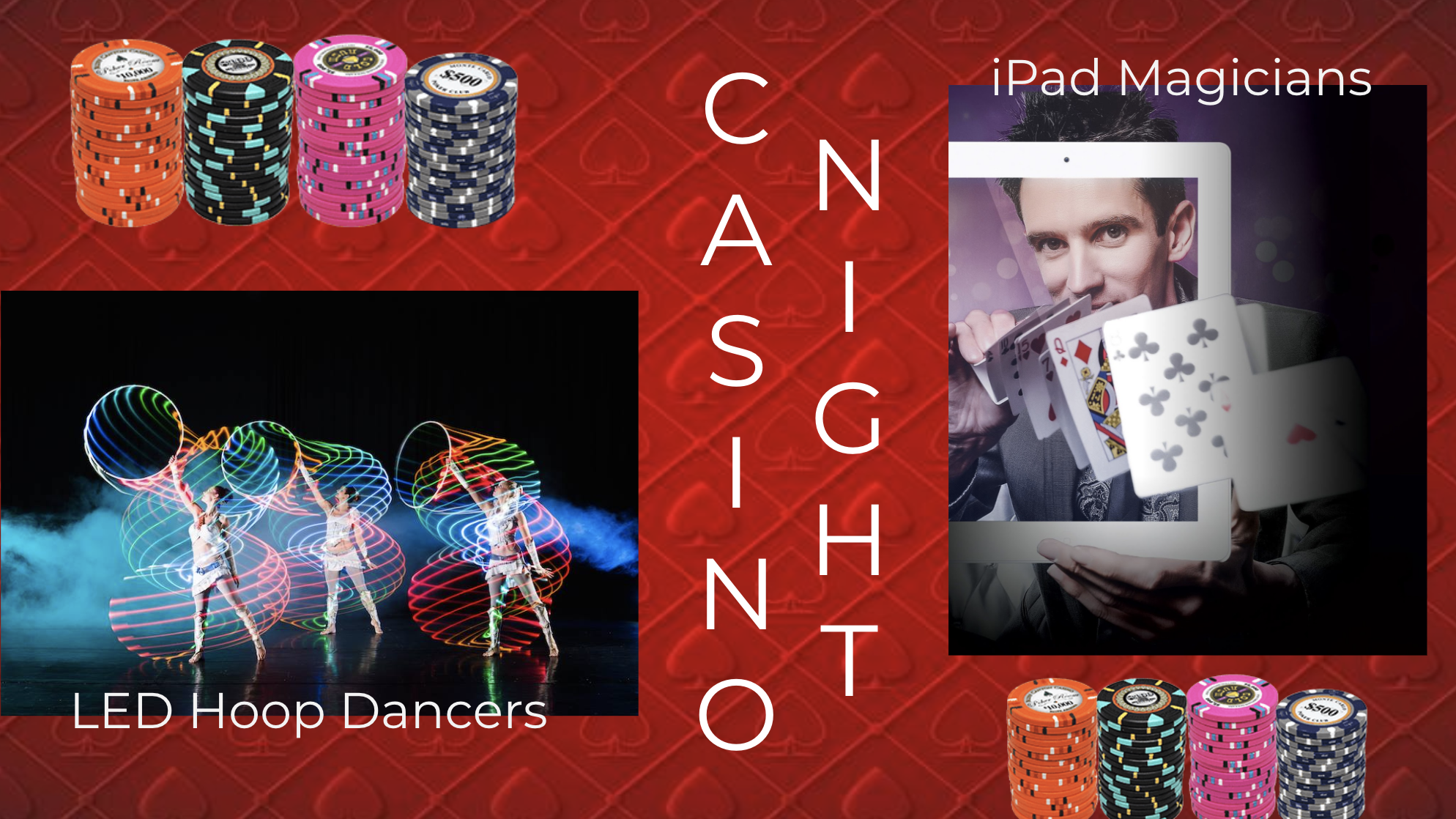Casino night - event themes