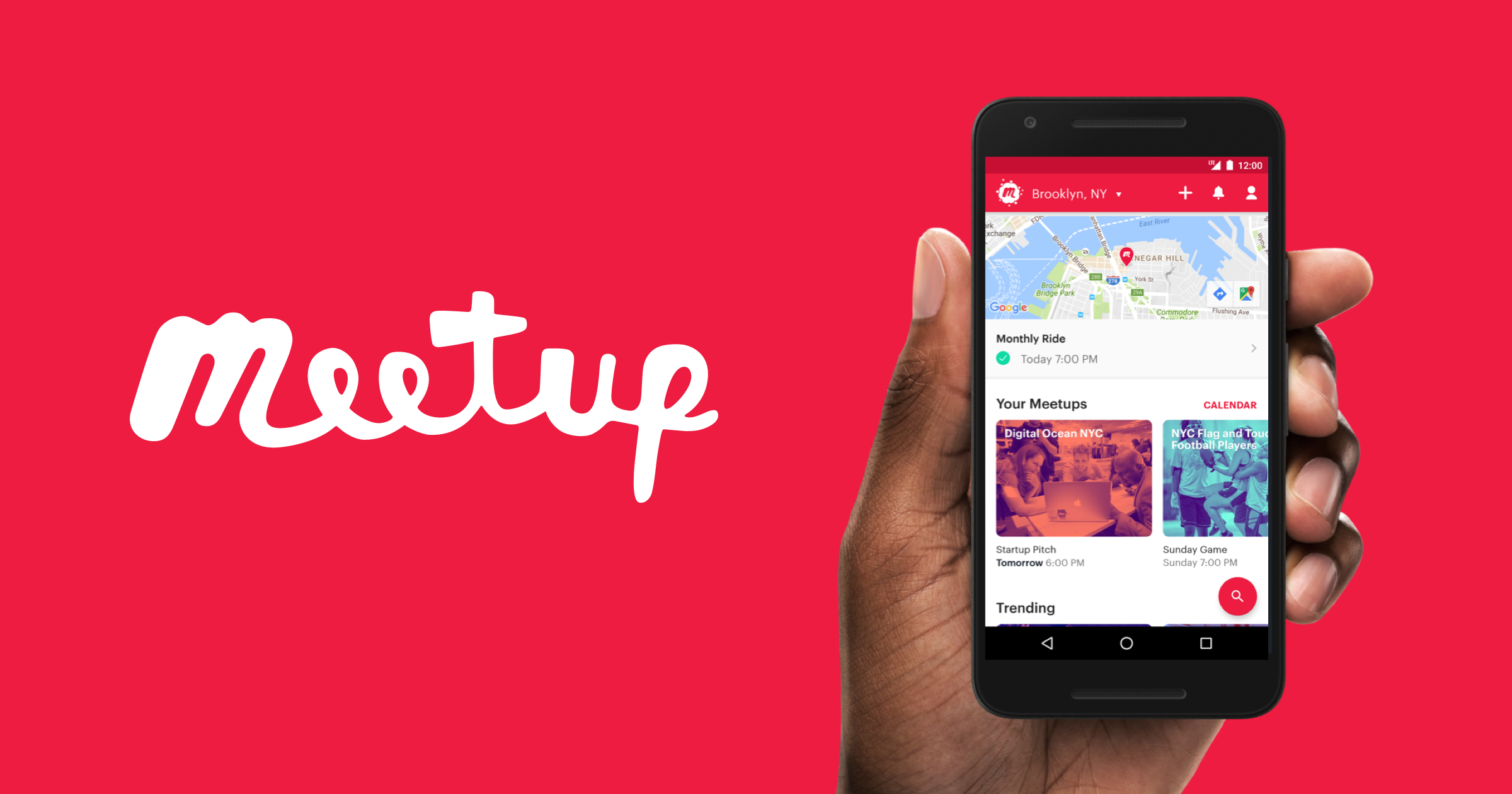 meetup - event discovery apps